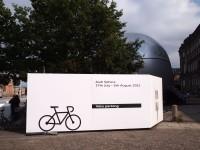 Audi Sphere: Bewachter Fahrradparkplatz