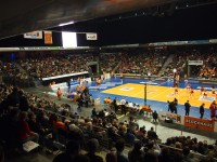 BR Volleys in der Max-Schmeling-Halle