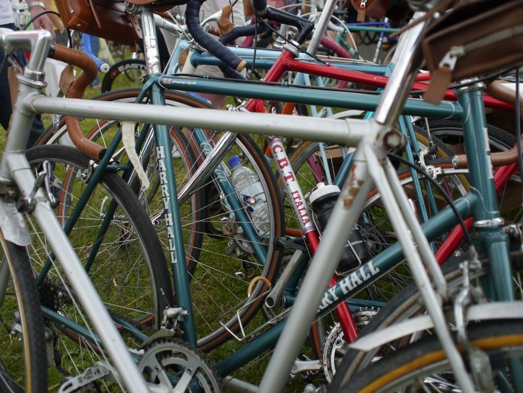 Typische Räder zur L'Eroica