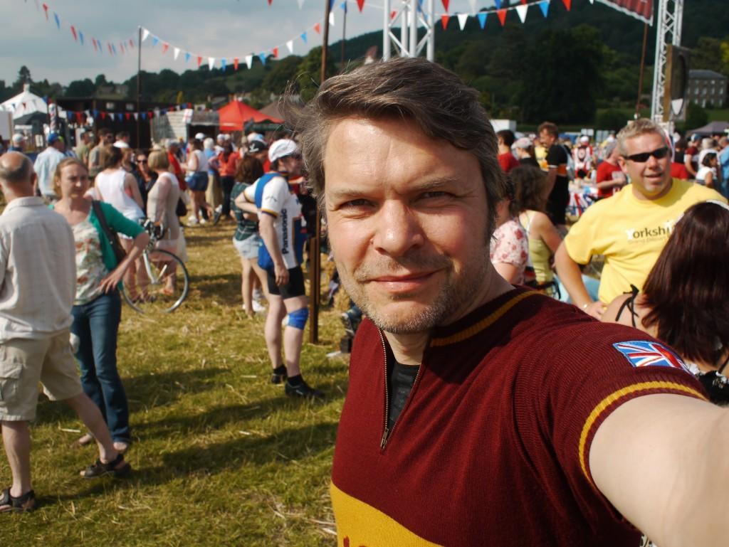 Selfie nach 90 Kilometern