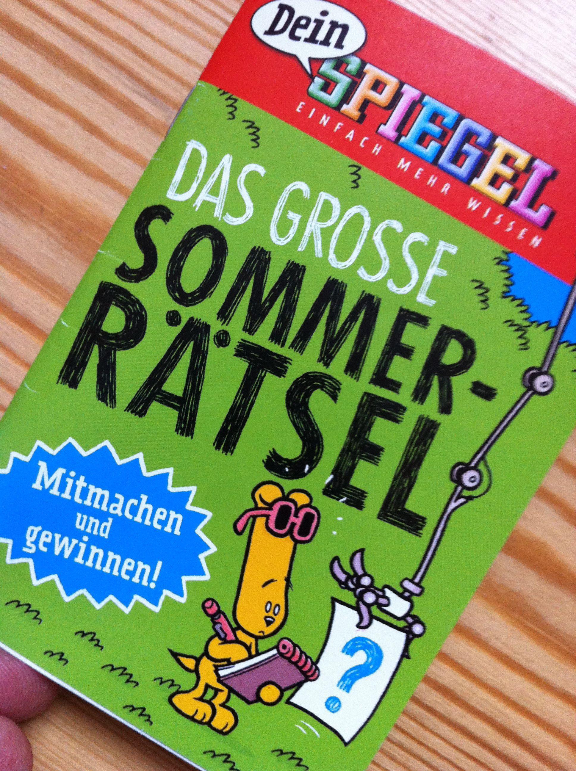 Das Sommerrätsel aus DeinSPIEGEL
